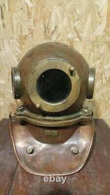 Original Russian Soviet 3-bolt diver's suit. USSR MARITIME
