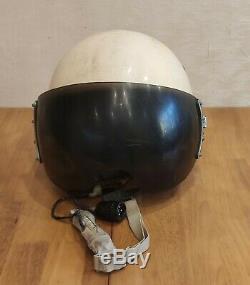 Original Russian Soviet pilot flight helmet ZSH-5A USSR air force mig