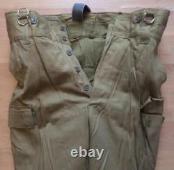 Original Soviet Russian Army Winter Suit Afghanka Uniform Military All Size