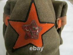 Original Soviet Russian CIVIL War Budenovka Hat Cap 1918-1922 Hammer And Plow