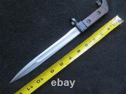Original Vintage Soviet Russian Bayonet And Scabbard