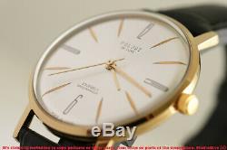 POLJOT De Luxe 2209 Costume Fashionable Luxury ULTRA slim Russian Soviet watch