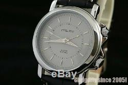 POLJOT Signal 2612.1 Russian USSR Vintage NOS watch with alarm Rare Grey