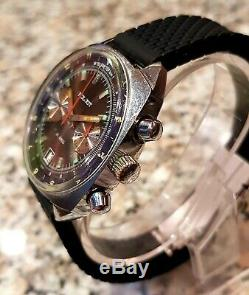POLJOT Sturmanskie 3133 Vintage Russian Soviet Watch USSR Chronograph BLACK