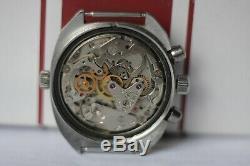 POLJOT Sturmanskie Chronograph, Stainless steel 3133 USSR Russian watch Ocean