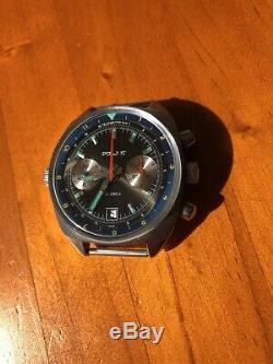 Poljot 3133 Schturmanskie Chrono Cccp 80s Vintage Russian Watch NOS