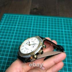 Poljot Chronograph 3133 Russian Soviet Vintage Watch USSR RARE 1990 Maintained
