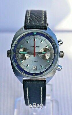 Poljot Vintage USSR Russian Soviet watch Chronograph Sturmanskie 3133