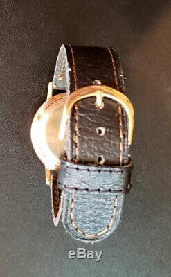 Poljot vintage soviet solid gold 583 / 14k watch 17 jewels made in USSR, Russian
