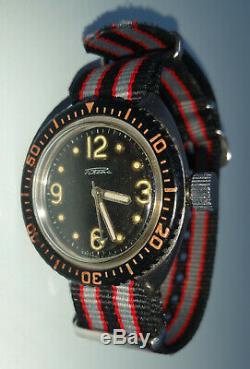 RAKETA Amphibian Military + BOX! Diver CCCP Russian Federation 2609. HA Soviet