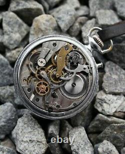 RARE KIROVSKIE Chronograph 1941 USSR Russian Moscow military ww2 watch