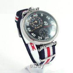 REGULATEUR MOLNIYA NAVY FLEET vintage Soviet Russian USSR watch regulator