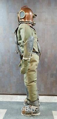 REPRODUCE Russian Soviet 3-bolt Diving diver's suit. Full-size USSR MARITIME
