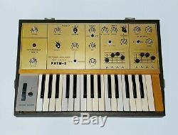 RITM-2 RAREST SOVIET ANALOG SYNTHESIZER with MIDI ussr russian moog prodigy