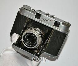 RUSSIAN USSR ISKRA MEDIUM FORMAT 6x6cm CAMERA + INDUSTAR-58, f3.5/75 (3)