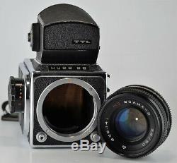 RUSSIAN USSR KIEV-88 MEDIUM FORMAT CAMERA+ MC VOLNA-3 f2.8/80 LENS