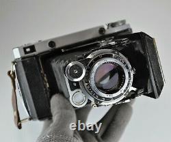 RUSSIAN USSR MOSKVA-5 6x6 & 6x9 MEDIUM FORMAT CAMERA, BOXED (ITEM 1)