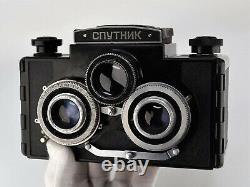 RUSSIAN USSR SPUTNIK 6x6 STEREO MEDIUM FORMAT CAMERA (2)