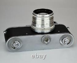 RUSSIAN USSR ZORKI 3M camera + JUPITER-8 lens, f2/50mm, SERVICED (1)
