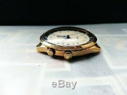Raketa 24 Hour cal. 2623H Vintage Soviet Russian Mechanical Watch Gold Plated
