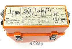 Rare Sar Sos Emergency Radio R-861 Beacon Antenna Bag Russian Soviet Aircraft
