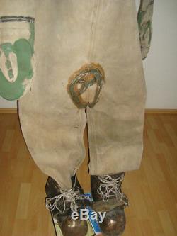 Rare Soviet Original russian3-bolt Diving Helmet, suit, boots(cascue, escafandra)