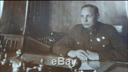 Rare Soviet Russian 23 K Gold Order Of Lenin Medal Document