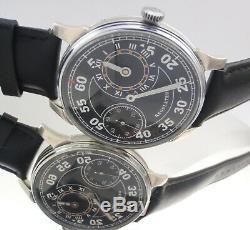 Regulateur MOLNIYA Aviation Force Vintage3 Mechanical Soviet Russian USSR Watch