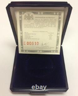 Russia 1988 USSR Platinum Coin 150 Rubles Russian Literature Proof NGC PF70 COA