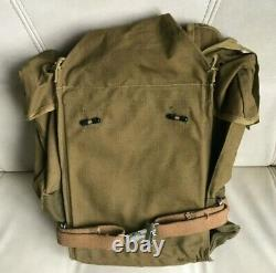 Russian Army RD-54 backpack vest VDV Airborne sand canvas USSR Afghan war 1970-s