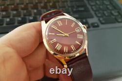 Russian Rose 14k 585 Soviet solid gold Vintage POLET men's watch vw001