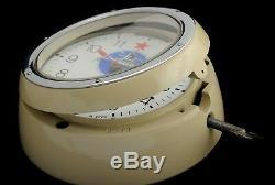 Russian SOVIET SUBMARINE VOSTOK CHRISTOPOL 5-24M NAVY MARINE SHIP WALL CLOCK