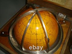 Russian STAR Celestial Globe made in 1970 USSR