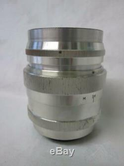 Russian Soviet LZOS Jupiter- 9 85mm f/2 M39 Mount Tele Lens