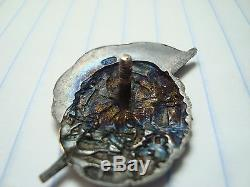 Russian Soviet Russia USSR CCCP order medal badge pin silver 1920's