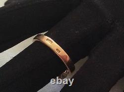 Russian Soviet Union Era 14k Pink&White Gold Ballerina Ring, size 8.5