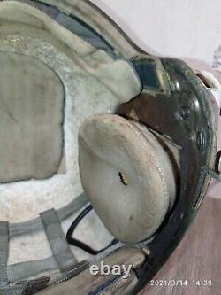Russian Soviet pilot flight helmet Air Force ZSH-5A Pilot helmet of the USSR