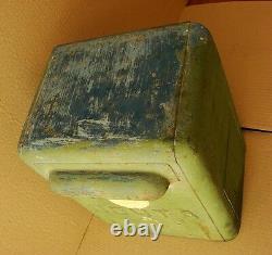 Russian Soviet ussr mail Post Box statutory emblem metal