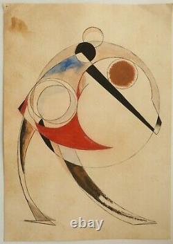 Russian USSR Avant Garde Art Painting Rodchenko