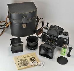 Russian Ussr Kiev-60 Ttl Medium Format Camera + MC Volna-3 Lens (2)