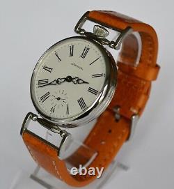 Russian Wrist Watch MOLNIJA Marriage Cal. 3602 Serviced