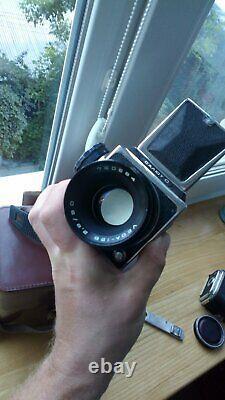 Salut C 6x6 Camera MC VEGA-128 EXC RARE 1979 year USSR HASSELBLAD COPY