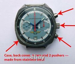 Shturmanskie 31659 Vintage USSR Russian Soviet watch Poljot Chronograph 2888
