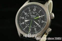 Solid men's Russian USSR watch cal. 2612.1 Poljot Signal Alarm MILITARY Aviator