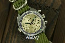 Soviet Poljot Chronograph 3133 Shturmanskie Russian Mechanical Watch Serviced