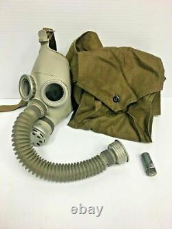 Soviet RUSSIAN GAS MASK Child Kids Youth XL Respirator Haversack Bag Air Hose