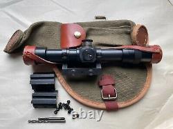 Soviet Russian Mosin Nagant 91/30 PE PEM Sniper Scope Mount Combo with canvas