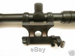 Soviet Russian Mosin Nagant 91/30 PU Sniper Scope Mount Set with 1 Inch Rings