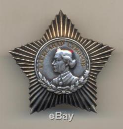 Soviet Russian Order of Suvorov 3 class