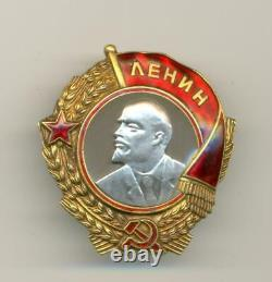 Soviet Russian USSR Order of Lenin s/n 8519 Reconversion